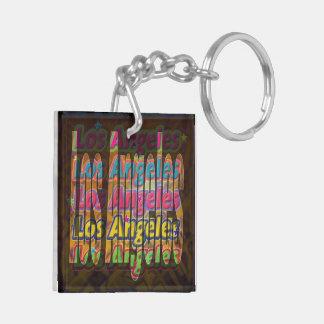 Los Angeles Sparkle Keychain