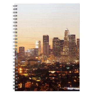Los Angeles Spiral Notebook