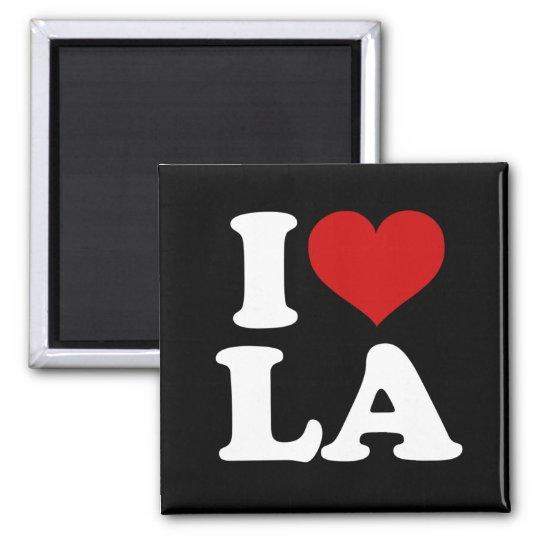 Los Angeles Square Magnet