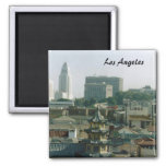 Los Angeles Square Magnet