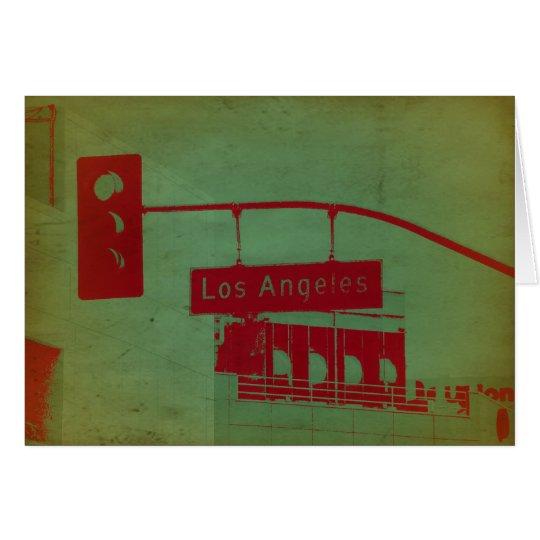 Los Angeles Street Card