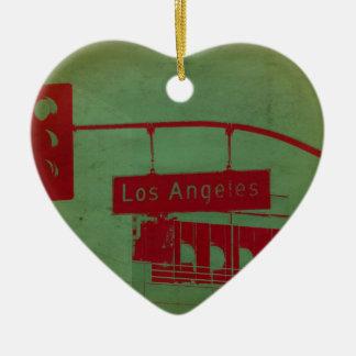 Los Angeles Street Christmas Ornament