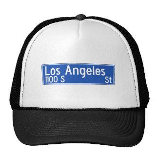 Los Angeles Street, Los Angeles, CA Street Sign Hat