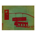 Los Angeles Street Postcard