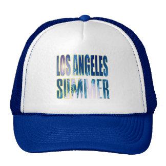 """""""Los Angeles Summer Letter Blue"""" Hat"""