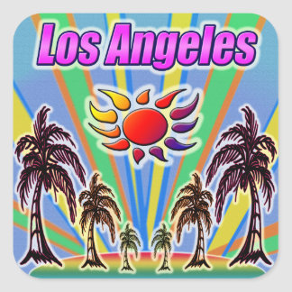 Los Angeles Summer Love Sticker