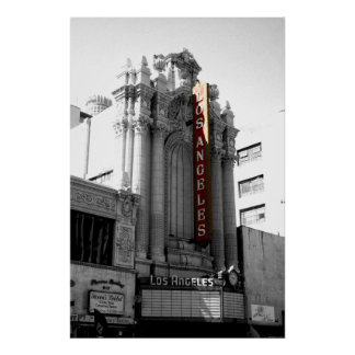 Los Angeles Theater Poster