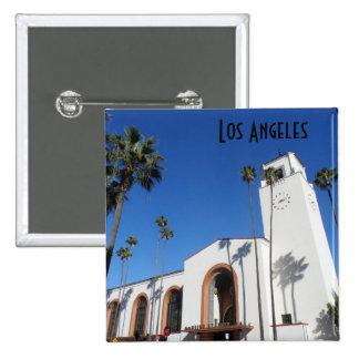 Los Angeles Union Station 15 Cm Square Badge