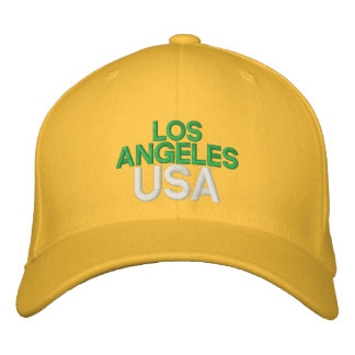 Los Angeles USA Embroidered Hat