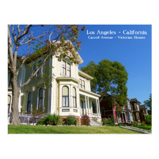 Los Angeles Victorian Houses Postcard! Postcard