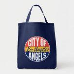Los Angeles Vintage Label Bags