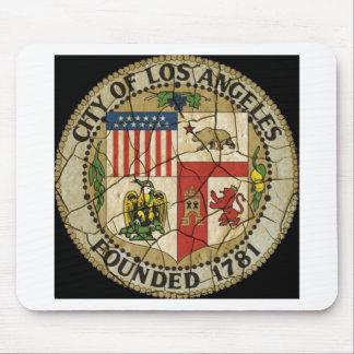 Los Angeles Vintage Sea Mousepad