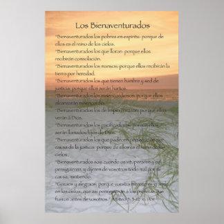 Los Bienaventurados (Version Vertical) Posters