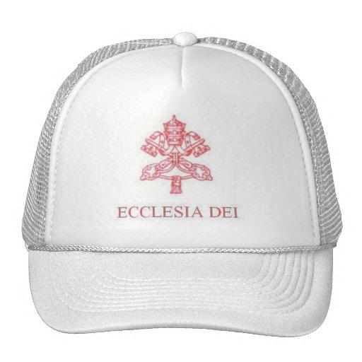 LOS BLANCOS DE REAL ECCLESIA DEI HATS