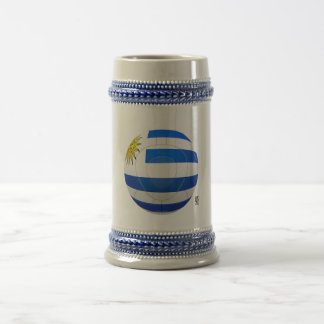 Los Charrúas - Uruguay Football Beer Steins