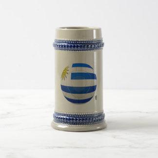 Los Charrúas - Uruguay Football Beer Steins