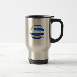 Los Charrúas - Uruguay Football Stainless Steel Travel Mug