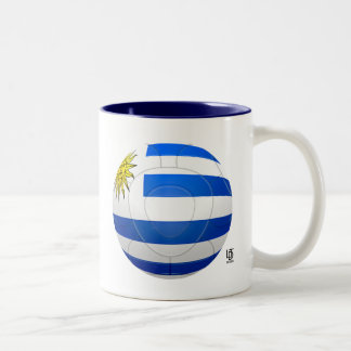 Los Charrúas - Uruguay Football Two-Tone Mug