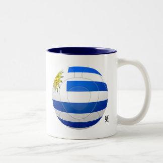 Los Charrúas - Uruguay Football Two-Tone Mug