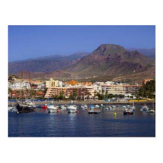 Los Cristianos in Tenerife Postcard