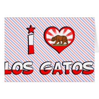 Los Gatos, CA Card