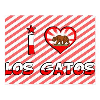 Los Gatos, CA Postcard