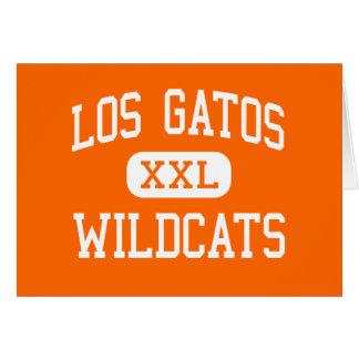 Los Gatos - Wildcats - High - Los Gatos California Greeting Cards