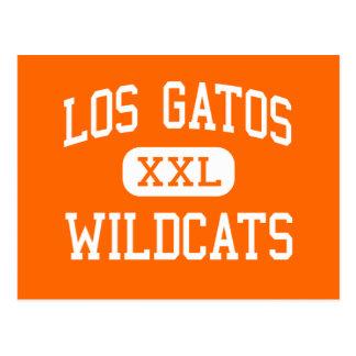 Los Gatos - Wildcats - High - Los Gatos California Postcards