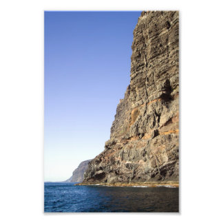 Los Gigantes Cliffs in Tenerife Photo Art
