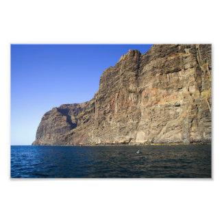 Los Gigantes Cliffs in Tenerife Photographic Print