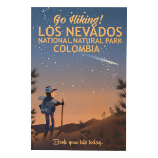 Los Nevados National Natural Park Travel poster