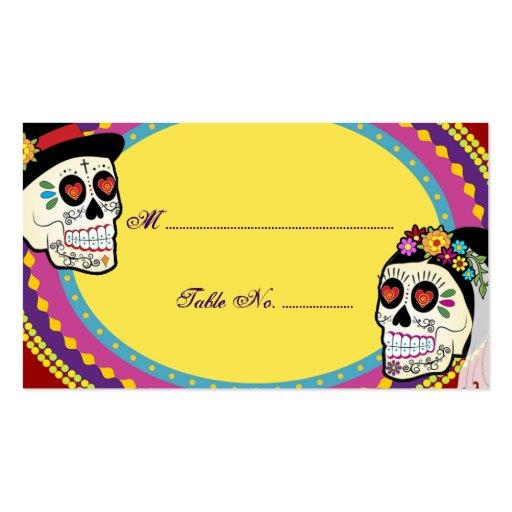 Los Novios Table Place Card Business Cards