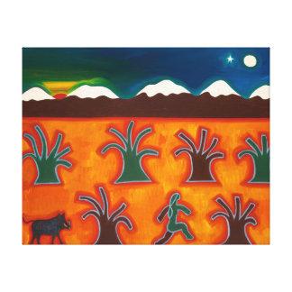 Los Olivos en el Invierno 2010 Canvas Print