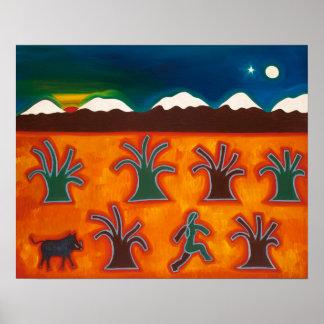 Los Olivos en el Invierno 2010 Poster