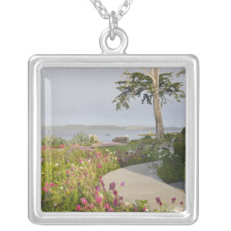 Los Osos and Baywood Park joined Silver Plated Necklace