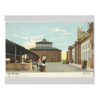 Los Palmas, Vintage Full Color Flyer