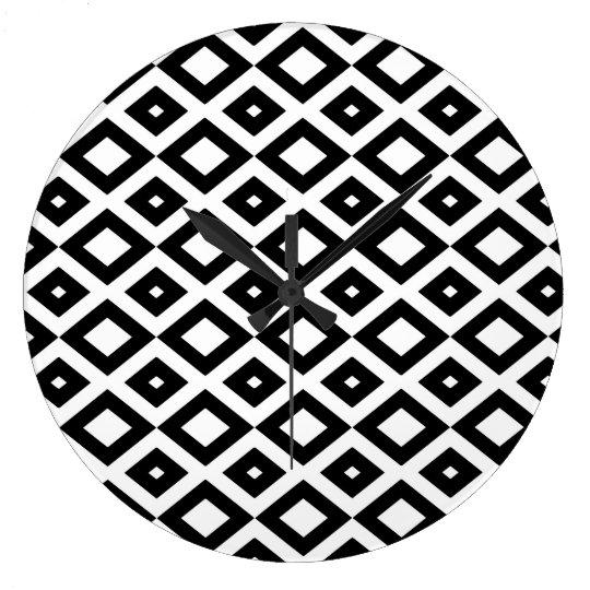Losango Black Clock