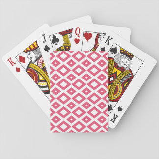 Losango Pink Baralho Playing Cards