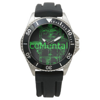 lose track of time with this ceMental watch! Wrist Watch
