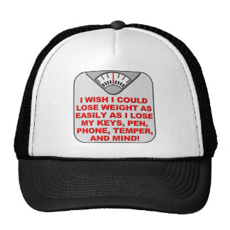 Lose Weight And My Mind Funny Ball Cap Hat