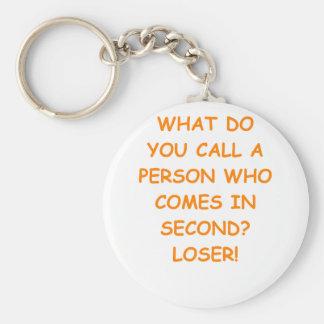 loser key chain