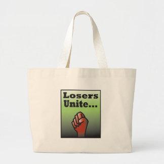 LosersUnite2 Large Tote Bag