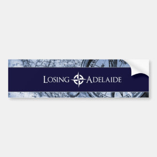 Losing Adelaide Blue Bumper Sticker