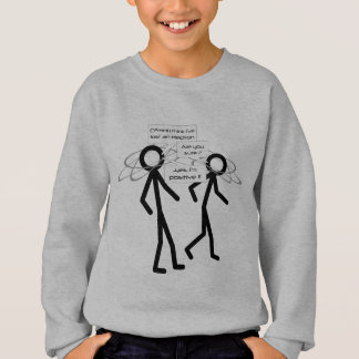 Losing An Electron joke - kids sweatshirt