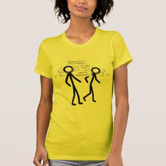Losing An Electron joke - ladies petite t-shirt