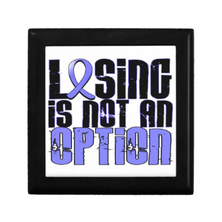 Losing Is Not An Option Behcet's Disease Trinket Boxes