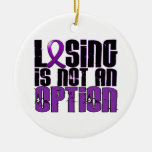 Losing Is Not An Option Crohn's Disease Christmas Ornaments