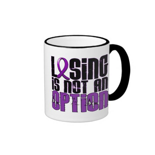 Losing Is Not An Option Fibromyalgia Coffee Mug