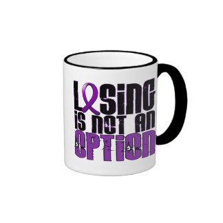 Losing Is Not An Option Fibromyalgia Ringer Mug