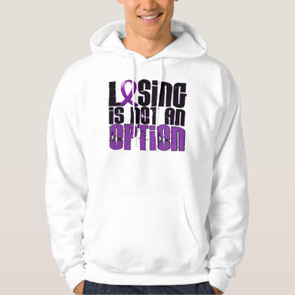 Losing Is Not An Option Fibromyalgia Sweatshirts